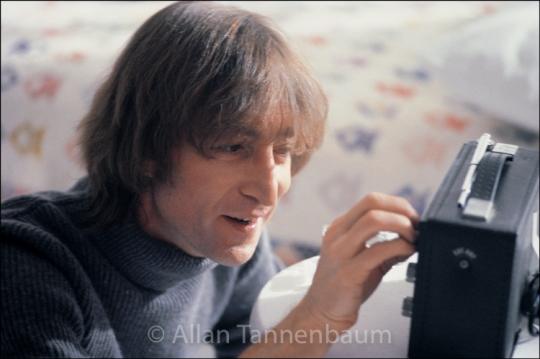 John Lennon Tuning Radio Smile